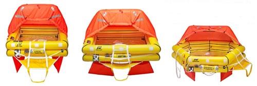 Revere, Plastimo, Avon, Switlik and Winslow Life Rafts